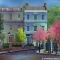Cherry Street Lane 2 SH-MP022-S 20x45ft Mary Poppins Backdrop